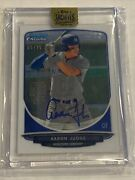 2017 Topps Archives Signature Series Aaron Judge Bowman Chrome Auto 4/25 Yankees