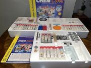 """""""rare"""" Thames And Kosmos Chem C3000 Ultimate Chemistry Set """"400 Experiments"""""""