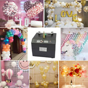 Portable Electric Balloon Pump Single Nozzle Air Blower Inflator Party Birthday