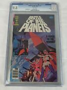 Gold Key Comic Book Japanese Anime Battle Of Planets 1 Cgc 9.8 Nm