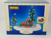 Lemax Christmas Village Animated Table Accent Around We Go 2005 Retired Model