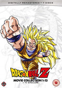 Dragon Ball Z Movie Collection 1 13 And Tv Uk Import Dvd [region 2] New