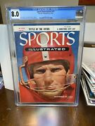 Sports Illustrated Cgc 8.0 Newsstand Nov 22 1954 Y.a. Tittle