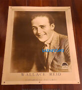Wallace Reid Rare Original Paramount Portrait Personality Poster Great Looking