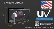 Framed Uv Protecting Acrylic Wall Mounting Full Size Football Display Case
