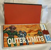 1964 The Outer Limits Monster Board Game Milton Bradley Complete Usa Vintage