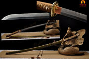 Fully Hand Forged Full Tang Folded And Clay-tempered Wwii Samurai Sword Katana
