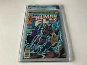 Human Fly 10 Cgc 9.8 White Pages Cool Flooding Mine Cover Marvel Comics 1978