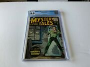 Mystery Tales 34 Cgc 6.0 Classic Somebody's Watching Cover Atlas Comics 1955