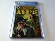 Weird Western Tales 20 Cgc 9.4 Jonah Hex Cool Cover Indians Dc Comics