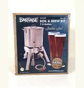Beer Brew Kit Bayou Classic Boil And Brew 30 Qt Stainless Steel Beer New Sealed