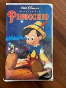 Pinocchio Vhs 1994 Highly Collectible