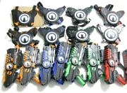 Armogear Infrared Laser Tag Gun Blasters And Vest Targets Battle Lot Of 8