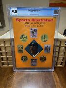 Sports Illustrated Cgc 9.0 Newsstand May 25 1970 Hank Aaron