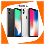 Apple Iphone X - 256gb - Silver Atandt A1901 Gsm – Used