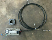 Marine Boat Engine Control Throttle Shifter With 16ft Cable