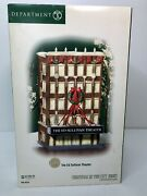 Dept 56 Christmas In The City The Ed Sullivan Theater New In Box 2004 Cbs