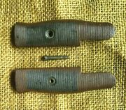 Rare Wwii Wilde Tool Bayonet Grips Scales