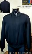 Usn Us Navy Flying Cross Menand039s Full Zip Jacket W/removable Liner Sz 46r