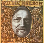 Willie Nelson-pre-owned Lp-tougher Than Leather...rarely Played.....vg/vg+