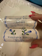 Set Of 2 Laura Ashley Home Wallpaper Border Roll 01r2r3 New Over 65 Feet Total
