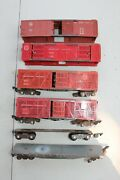 American Flyer Freight Car Fix Up Group Lot 42597 629 633 736 Jb