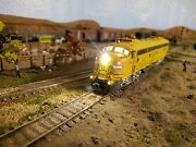 Overland Brass E9a Santa Fe Dcc/sound Custom Painted And Detailed And More