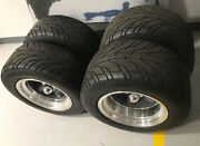 American Racing Torque Thrust D Wheels 15x10 Chevy 15x8 1/2 Rims And Tires