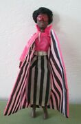 1970 Rock Flower Black African American Rubber Doll Mattel W/ Outfit Rosemary