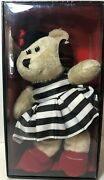 New Alice And Olivia 2013 Collector Starbucks Bearista Bear 110th Edition Nwt
