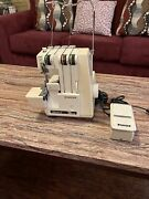 Singer Ultralock 14u32a Serger Sewing Machine With Foot Pedal And Power Cord