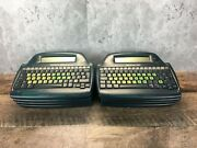 Lot Of 8 Alphasmart 3000 Portable French-can. Keyboard Word Processor Untested