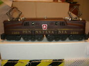Lionel Postwar Prr 2360 Gg1 Very Nice And A Nice Set Of Congressional Coaches