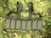 Repro Vietnam Navy Seals Canvas Rigger Made Chest Rig 30 Round