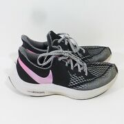 Nike Zoom Winflo 6 Women's Black White And Pink Running Shoes Size 8 Cn2153-001