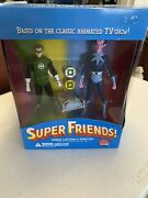 Dc Direct Super Friends Green Lantern And Sinestro Deluxe Action Figure Set