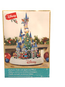 Disney Magic Kingdom Christmas Animated Castle W Lights And Music New In Box