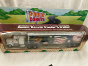 Rare1995 Dunkin Donuts Tractor Trailer Truck O And O27 Gauge Diecast Metal