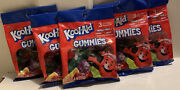 New Lot Of 5 Kool-aid Gummies Fruity Flavored Gummy Candy/candies-3 Flavors