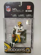 Aaron Rodgers Mcfarlane Series 21 Packers White Jersey Variant