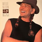 Willie Nelson-pre-owned Lp-me And Paul...rarely Played....vg+/vg+