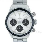 Rolex Daytona Silver Dial Stainless Steel Manual Winding 6240 12mill Series ...