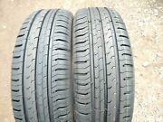 Pair Of 165 60 15 77h Continental Contiecocontact 5 Tyres New