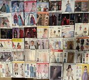 250+lot Of Costume Cosplay Doll Clothes Decor Kids Adults Formal Sewing Pattern
