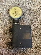 Rare Antique Navy Whittemore Strain Gauge Standard Gage Co. Tool 1930's