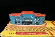 Tin Antique Model Union Train Station Terminal By Mar Toys Very Old