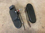 Indian Scout 741 Sport Scout Footboard Footboards With Clutch Lever, Sidebars