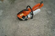 Stihl Ts420 Concrete Cutt-off Saw Watch The Video And Info No Returns