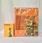 Dept 56 Lot Of 2 Saciaand039s Book Emporium + No Spell Unlearned Svh Witch Hollow