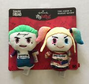 Hallmark Itty Bittys The Joker And Harley Quinn Suicide Squad Movie Set New